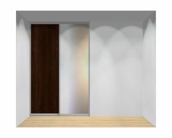 Drzwi przesuwne szerokość 161 - 180 cm 1618d2x2
