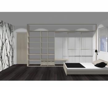 Wnętrze szafy szerokość 400 - 450 cm  4045w13x5