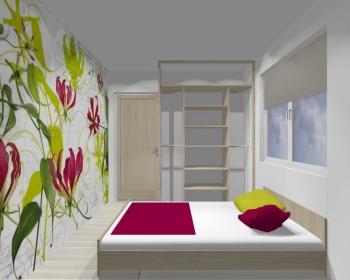 Wnętrze szafy szerokość 140 - 160 cm 1416w14x2