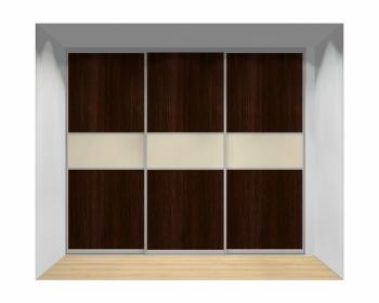 Drzwi przesuwne szerokość 271 - 310 cm 2731d10x3