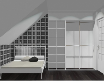 Wnętrze szafy szerokość 181 - 210 cm 1821w41x3