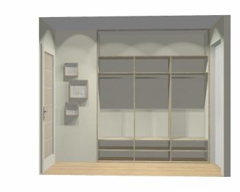Wnętrze szafy szerokość 211 - 240 cm 2124w5x3