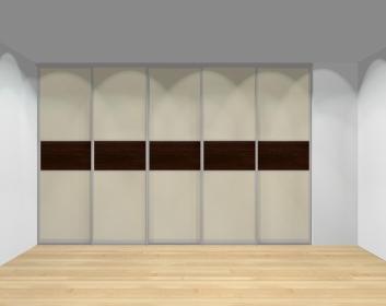 Drzwi przesuwne szerokość 351 - 400 cm 3540d16x5
