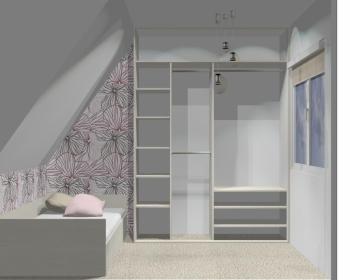 Wnętrze szafy szerokość 161 - 180 cm 1618w23x2
