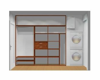 Wnętrze szafy szerokość 241 - 270 cm 2427w8x3
