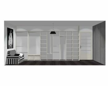 Wnętrze szafy szerokość 450 - 500 cm  4550w2x5