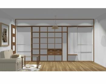 Wnętrze szafy szerokość 450 - 500 cm  4550w3x5
