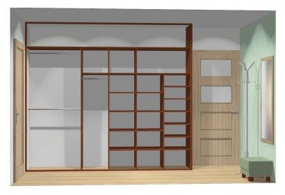 Wnętrze szafy