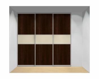 Drzwi przesuwne szerokość 211 - 240 cm 2124d10x3