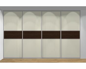 Drzwi przesuwne szerokość 311 - 350 cm 3135d11x4