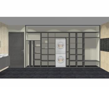 Wnętrze szafy szerokość 400 - 450 cm  4045w16x5