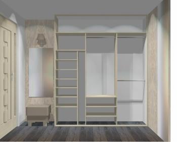 Wnętrze szafy szerokość 181 - 210 cm 1821w40x3