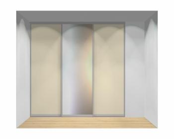 Drzwi przesuwne szerokość 241 - 270 cm 2427d8x3