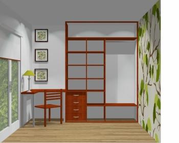 Wnętrze szafy szerokość 161 - 180 cm 1618w16x2