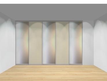 Drzwi przesuwne szerokość 351 - 400 cm 3540d5x5