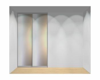 Drzwi przesuwne szerokość 140 - 160 cm 1416d3x2
