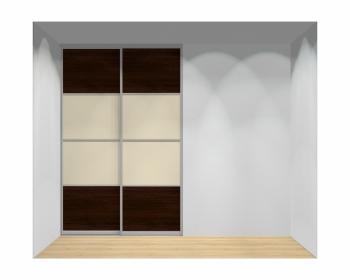 Drzwi przesuwne szerokość 161 - 180 cm 1618d12x2