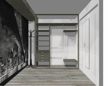 Wnętrze szafy szerokość 181 - 210 cm 1821w51x3