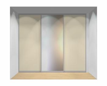 Drzwi przesuwne szerokość 271 - 310 cm 2731d8x3