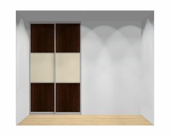Drzwi przesuwne szerokość 140 - 160 cm 1416d8x2
