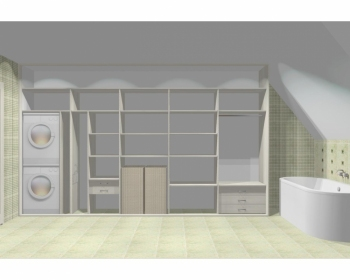 Wnętrze szafy szerokość 400 - 450 cm  4045w19x5