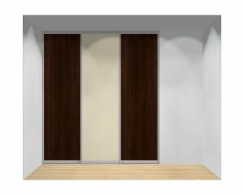 Drzwi przesuwne szerokość 211 - 240 cm 2124d6x3