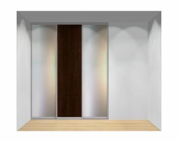 Drzwi przesuwne szerokość 181 - 210 cm 1821d3x3