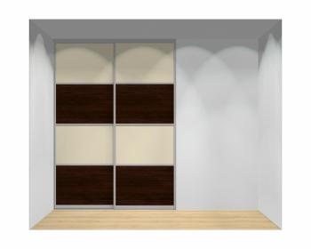 Drzwi przesuwne szerokość 181 - 210 cm 1821d13x2