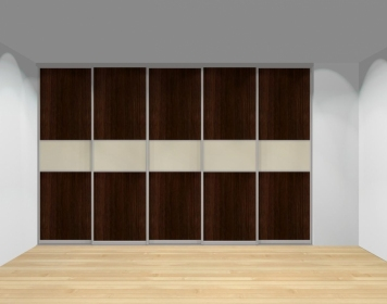 Drzwi przesuwne szerokość 351 - 400 cm 3540d18x5
