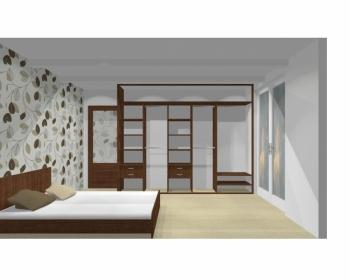 Wnętrze szafy szerokość 310 - 350 cm  3135w7x3