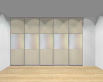 Drzwi przesuwne szerokość 351 - 400 cm 3540d22x5