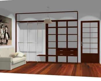 Wnętrze szafy szerokość 310 - 350 cm  3135w21x3