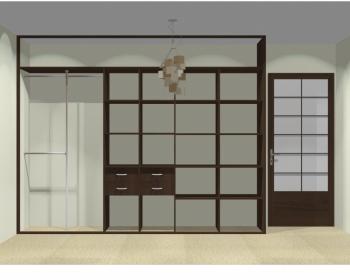 Wnętrze szafy szerokość 310 - 350 cm  3135w20x3