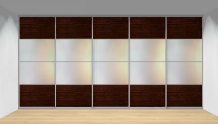Drzwi przesuwne szerokość 451 - 500 cm 4550d17x5