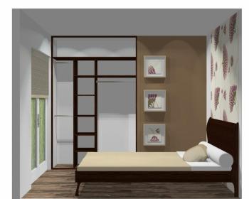 Wnętrze szafy szerokość 140 - 160 cm 1416w16x2