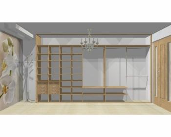 Wnętrze szafy szerokość 400 - 450 cm  4045w15x5