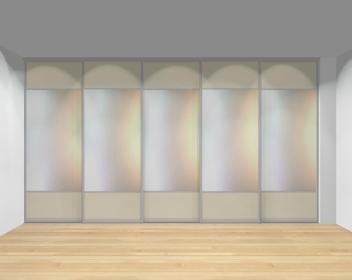 Drzwi przesuwne szerokość 401 - 450 cm 4045d15x5
