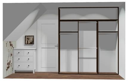 Wnętrze szafy szerokość 211 - 240 cm 2124w23x3