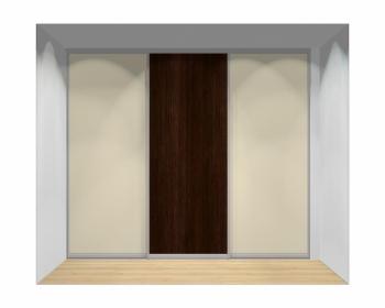 Drzwi przesuwne szerokość 271 - 310 cm 2731d7x3