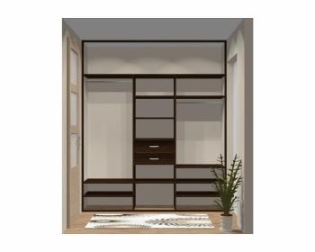 Wnętrze szafy szerokość 211 - 240 cm 2124w6x3