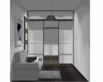 Wnętrze szafy szerokość 181 - 210 cm 1821w52x3