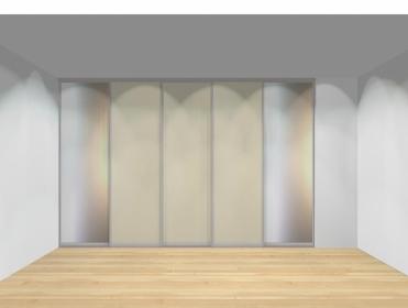 Drzwi przesuwne szerokość 351 - 400 cm 3540d3x5