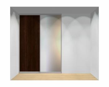 Drzwi przesuwne szerokość 181 - 210 cm 1821d2x2
