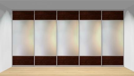 Drzwi przesuwne szerokość 451 - 500 cm 4550d12x5