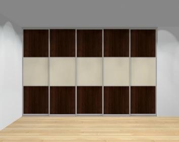 Drzwi przesuwne szerokość 351 - 400 cm 3540d21x5