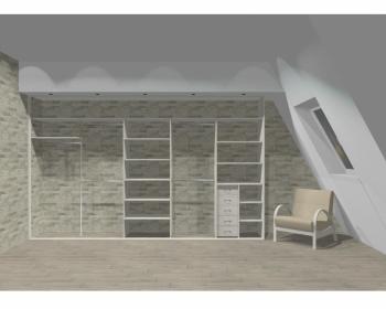 Wnętrze szafy szerokość 400 - 450 cm  4045w20x5