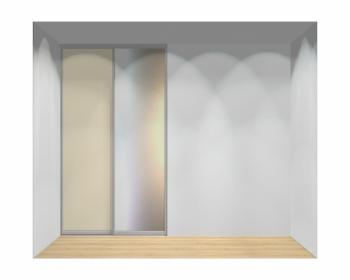 Drzwi przesuwne szerokość 140 - 160 cm 1416d6x2