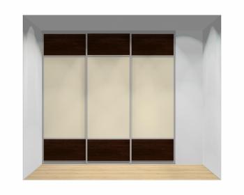 Drzwi przesuwne szerokość 241 - 270 cm 2427d12x3