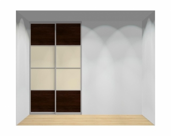 Drzwi przesuwne szerokość 140 - 160 cm 1416d12x2