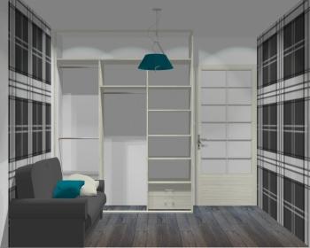 Wnętrze szafy szerokość 181 - 210 cm 1821w30x3